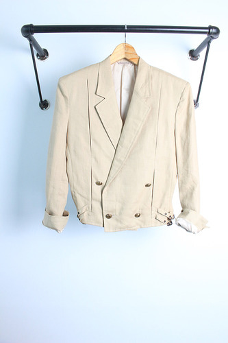 "90s GIANNI VERSACE (55) made in ITLAY ""linen"""