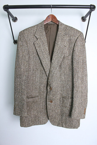 "C.F.Hathaway (XL) made in italy ""wool & silk"""