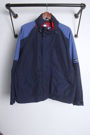 "90s TOMMY HILFIGER (M~L) ""DURABLE OUTERWEAR"""