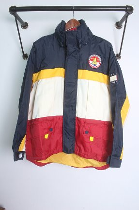 90s TOMMY HILFIGER (S~M)