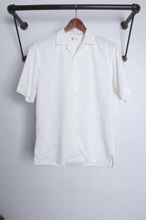 "UNIQLO U  (S) ""cotton & rayon"""