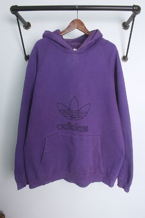 "80s adidas  (XL~) ""made in USA"""