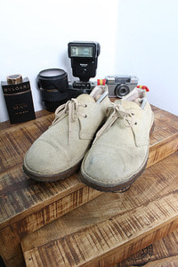 "BARRY'S for MEN'S MELROSE (265~270) made in SPAIN ""suede"""