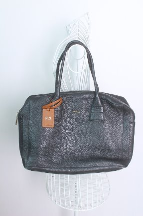"FURLA (42cm x 27cm) made in ITALY ""Leather"""