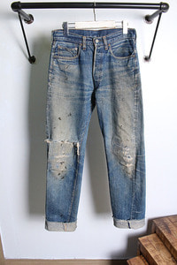 60s LEVI'S (29~30)  BIG selvage DENIM